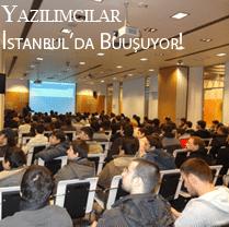 yazılımcılar İstanbulda buluşuyor