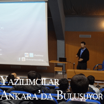 Yazılımcılar Ankara'da Buluşuyor